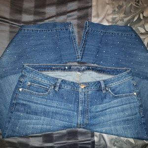 Jennifer Lopez bling jeans